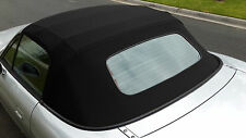 Mazda MX-5 1989-2005 soft top Stayfast Mohair cloth - glass window & demister