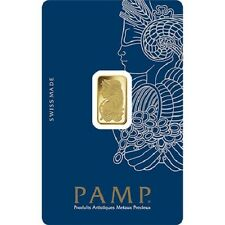 2.5 Gram PAMP Suisse Fortuna Veriscan Gold Bar .9999 fine (New w/ Assay)