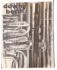 Vtg January 27, 1966 DOWN BEAT Vol. 33 No. 2 (Lawerence Brown) Music MAGAZINE