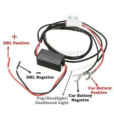 INTERRUPTOR CONTROLADOR RELÉ RELAY DE LUZ DIURNA LED DRL ON-OFF COCHE UNIVERSAL