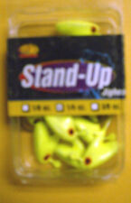 APEX STAND UP JIG HEADS SUH14-5 CHART 10 PC 1/4 OZ