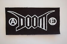 "Doom Cloth Patch Sew On Badge Aus Rotten Punk Rock Music Approx 6""X3"" (CP64)"