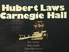 HUBERT LAWS - At Carnegie Hall ~ CTI 6025 {orig} w/Cobham, Carter, James - RARE