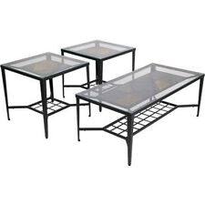 Ashley Furniture Occasional Table Set (3/CN) Calder Black T133-13 Table NEW