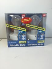 2 pack As Seen on TV  Stick Up Bulb  Cordless  Westinghouse white  Cordless bulb