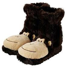 Aroma Home Fun For Feet Slippers Socks Monkey  4-7