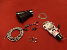 """Electric Exhaust Cutout Cutouts BadlanzHPE 2.5"""" 63mm S  5 YEAR WARRANTY!"""