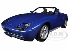 1988 BMW Z1 METALLIC BLUE 1/18 DIECAST CAR MODEL BY MINICHAMPS 180020102
