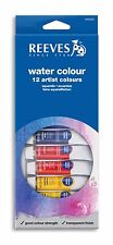 Reeves watervolour Pintura Tube Set 12 X 10ml Colores Surtidos