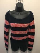 American Eagle Women's Size XS/TP 100% Cotton Long Sleeve Pullover Sweater EUC
