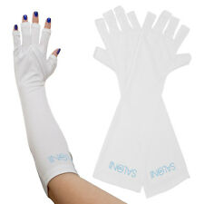 PAIR Salon Edge UV White Protective Gloves Gel Curing Nail Polish Lamps Light