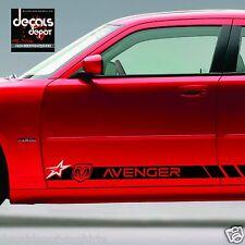 Decal Vinyl Sticker Fits Dodge AVENGER 2009 to 2017  ROCKER PANEL