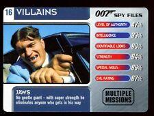 Jaws #16 Villains - 007 James Bond Spy Files Card