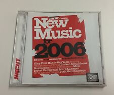 Uncut Presents New Music For 2006 - 15 track compilation CD - VGC - Tested