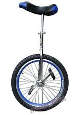 "Unicycle Cycling 20"" In & Out Door Chrome colored New Skidproof Tire"