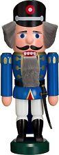 NUßKNACKER Polizist blau 27cm NEU Erzgebirge Seiffen Volkskunst Original
