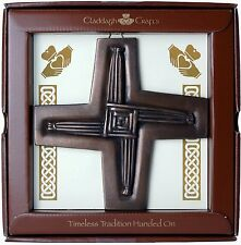 "Bronze St. Brigid's Cross Plaque 6"" (TF03) - Island Turf Crafts"