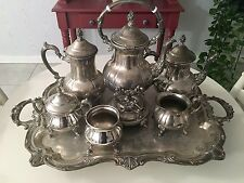 TOWLE Silverplate Coffee & Tea Set Service  7 pieces