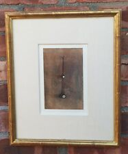 Contemporary Lithograph By Artist Mark Innerst. Pocketwatch. Signed. 1989. 20/30