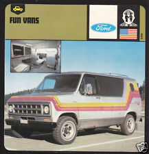 1978 FORD ECONOLINE 150 CHATEAU Van Picture Photo CARD