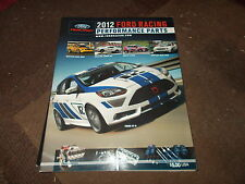 2012 FORD RACING PERFORMANCE PARTS CATALOG BOOK MUSTANG FORD RACING PARTS CATALO