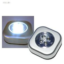 5x Touch Luce Lampada con LED senza Cavo LED bianco Schranleuchte Luce mobili