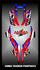 HONDA TRX250R TRX 250R FOURTRAX  SEMI CUSTOM GRAPHICS KIT RAGE SERIES