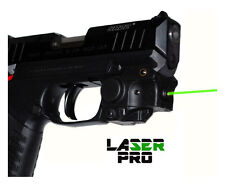 Green Compact Laser Sight for Pistols & Handguns w/Rails + 3 CR1/3N Batteries