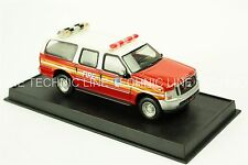 Ford Excursion- 2004 US Fire Truck NYFD Amercom Diecast Model 1:50  No 7