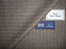 100%PURE NEW WOOL ENGLISH COUNTRY SPORTING JACKETING FABRIC MADE IN ENGLAND-2.2m