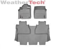 WeatherTech Floor Mats FloorLiner for Toyota Tundra CrewMax - 2014-2017 - Grey