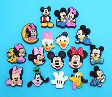 Mickey Mouse Party Favours Piñata Fillers 16 Cake Decorations Minnie Charms NEW