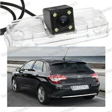CCD Car Rear View Reverse Parking Backup Camera 4LED For Citroen C4 2010-2012