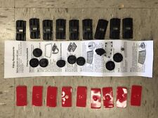 Louvre Fitting Kit For Aunger Louvre - Lat 9 9 Pieces! NEW!
