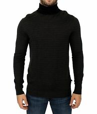 NWT $300 COSTUME NATIONAL C'N'C Gray Turtleneck Sweater Pullover IT48 / US38 / M
