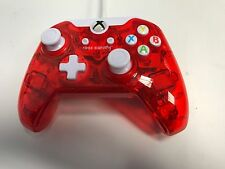 XBOX ONE * ROCK CANDY RED CONTROLLER Game Control Pad *
