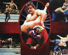 Autographed Dynamite Kid Photo, WWE Stampede Wrestling British Bulldogs WWF The