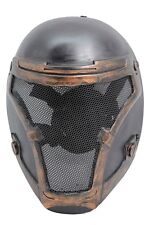 Airsoft CS Paintball Full Wire Mesh Protection Biochemical Soldier Mask PROP 730