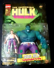 Marvel Incredible Hulk Savage Hulk - Banner Transforming Action toybiz 96 RARE!