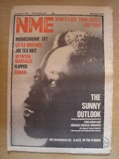 NME 1982 AUG 28 KING SUNNY ADE WHO BLONDIE PETE GABRIEL
