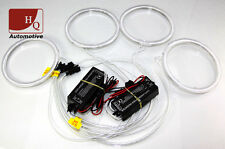 CCFL Angel Eyes Halo Rings 4pcs KIT WHITE 6000K to fit BMW E46 Coupe Facelift