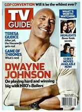 2016 TV Guide Ballers On Playing Hard and Winning Dwayne Rock Johnson Cover!