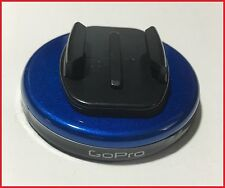 BLUE GoPRO hero 2 3 4 Magnet flat race car mount 80# draw magnetic accessory