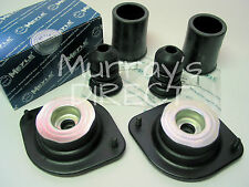 Pair MEYLE Front Top Mounts Bump Stops & Covers for VW Mk1 Golf 1600 1800 GL GTI