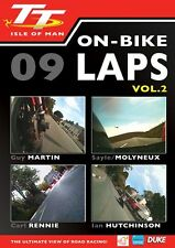 Isle of Man TT 2009 - On Bike Laps Volume 2 (New DVD) Guy Martin Carl Rennie
