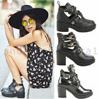 WOMENS LADIES LOW MID HIGH PLATFORM BLOCK HEEL CHELSEA ANKLE BOOTS SHOES SIZE