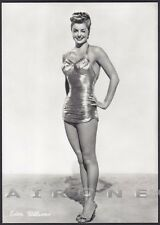 ESTHER WILLIAMS 10 ATTRICE ACTRESS CINEMA MOVIE STAR PEOPLE Cartolina FOTOGRAF.