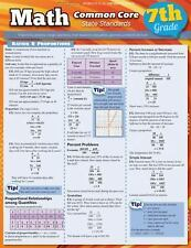 Math Common Core 7Th Grade by Inc. BarCharts (2012, Book, Other)