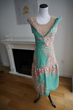 New Anthropologie Manish Arora Beaded Sequin Dress Size Small Losd Out RARE