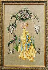 "SALE! COMPLETE XSTITCH KIT ""THE ROSE OF SHARON"" by Mirabilia"